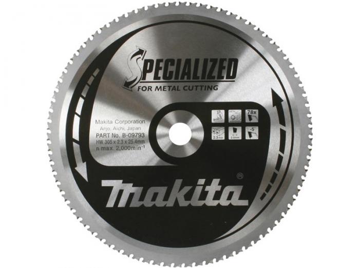 Диск пильный Makita ф190х30х2.4мм 60зуб B-31479