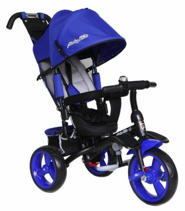 """Велосипед трехколесный Moby Kids 10/12"""" Comfort -maxi синий 968SL-12/10Boy"""