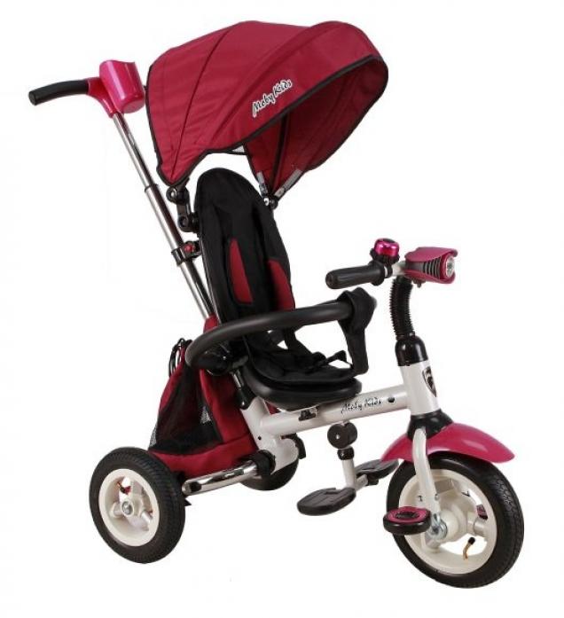 Велосипед трехколесный Moby Kids Junior-2 розовый T300-2Girl