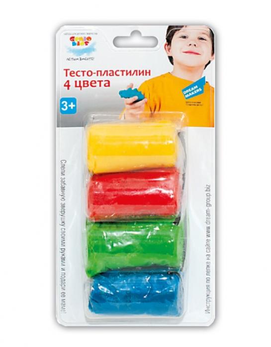 Тесто-пластилин Genio Kids 4 цвета TA1055B