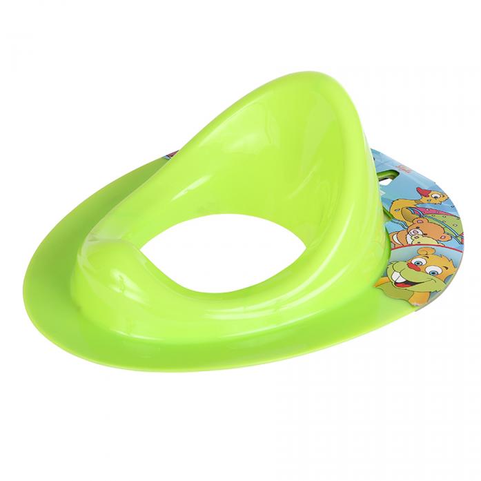 Накладка на унитаз Dunya Plastic 11108 салатовая