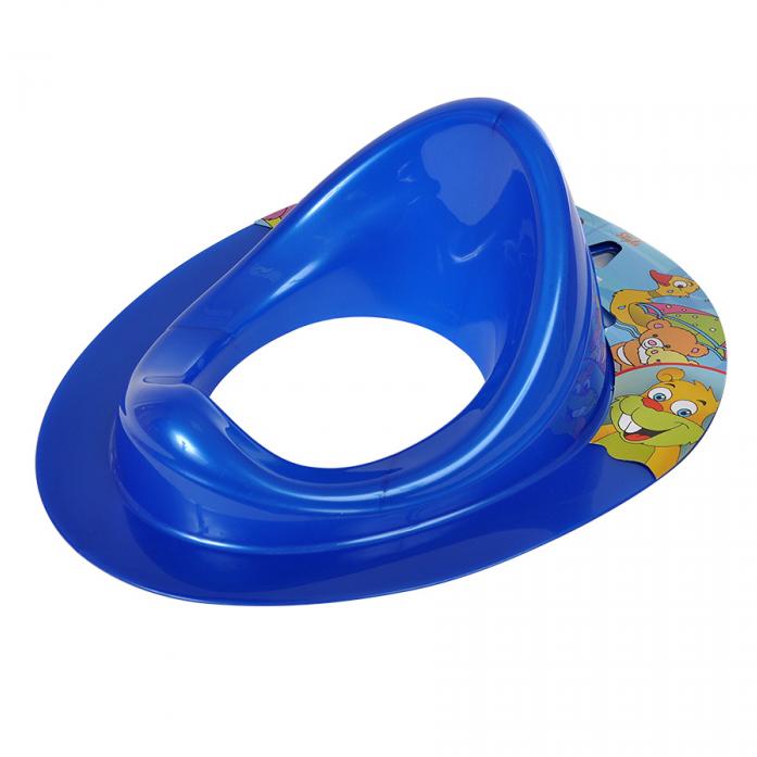 Накладка на унитаз Dunya Plastic 11108 синяя