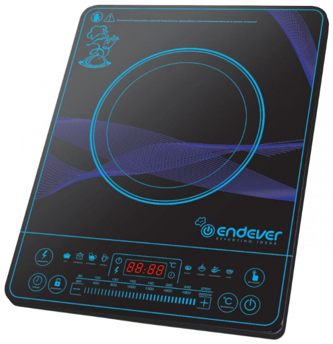 Настольная плита Kromax Endever Skyline IP-32