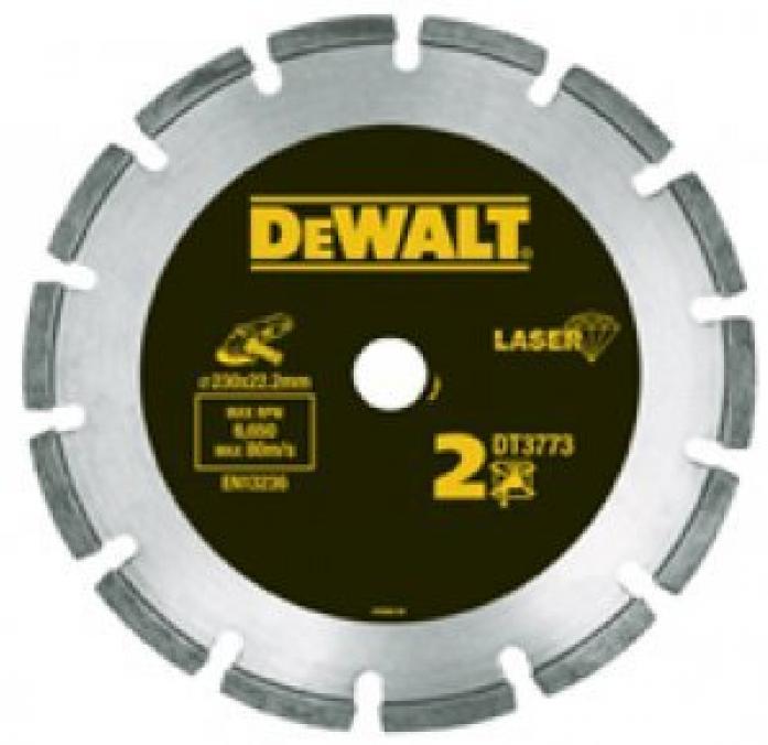 Диск алмазный сегментный DeWalt ф180х22.2х2.4мм DT 3772