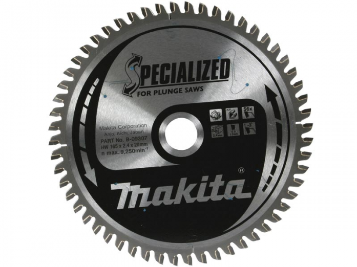 Диск пильный Makita 165х20х1/1,5мм Z24 B-31158