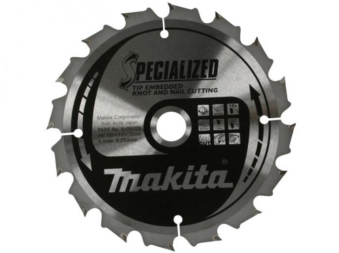 Диск пильный Makita 190х30х2мм B-31289