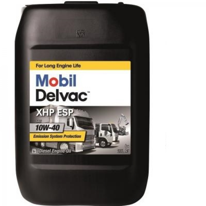 Масло моторное Mobil Delvac XHP ESP 10W40 диз. син. (20л)