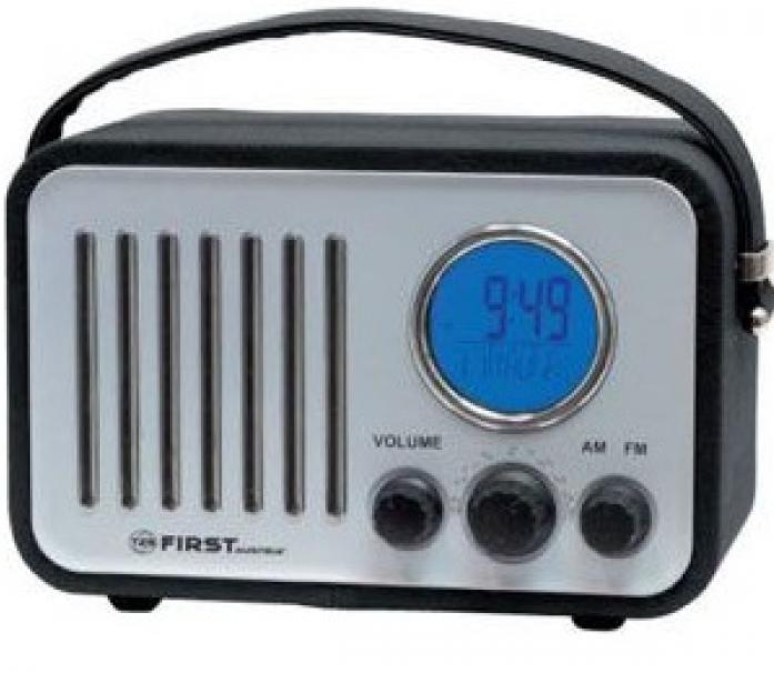 Радиоприемник First FA-1908-1 Black