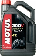 Масло моторное MOTUL 300V 4T FL Road Racing 15w50 4л. 104129
