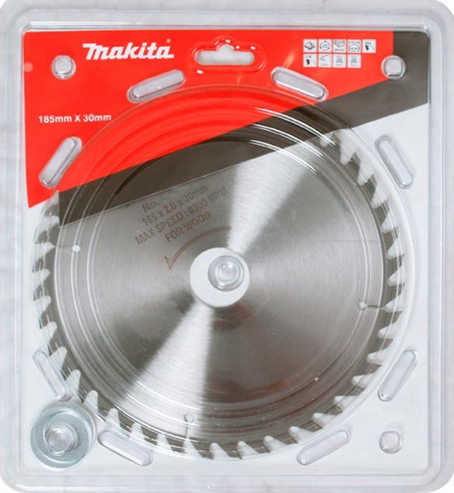 Диск пильный по дереву Makita Standard ф185х301620х2мм 40зуб D-45923
