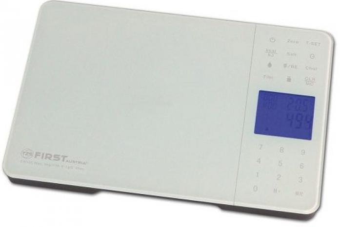 Кухонные весы First FA-6407-1 White