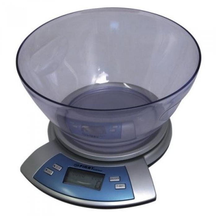 Кухонные весы First FA-6406 Silver