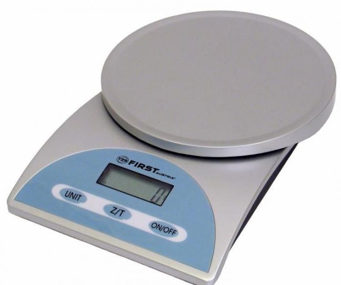 Кухонные весы First FA-6405 Silver
