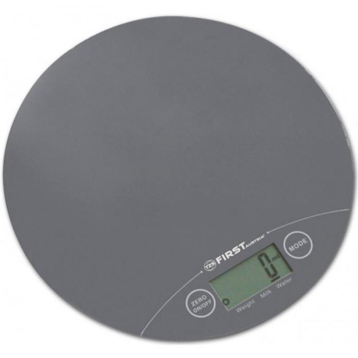 Кухонные весы First FA-6400-1 Grey