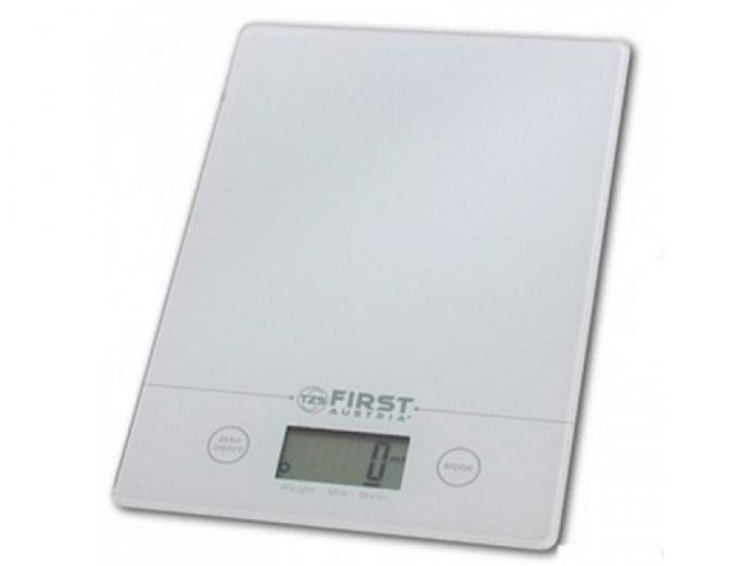 Кухонные весы First FA-6400 White