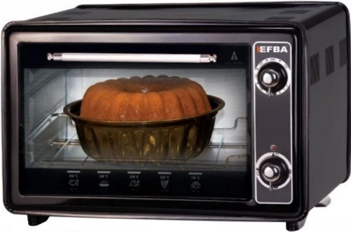 Мини-печь EFBA 1002 черная