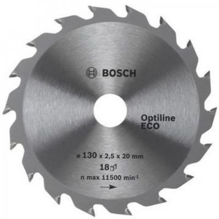 Пила твердосплавная Bosch ECO 254х30х 40 Optiline 2608641795
