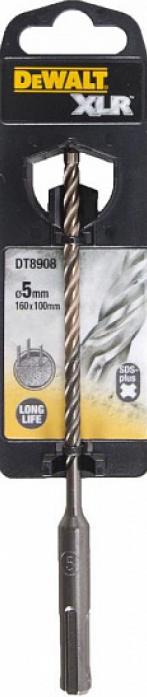 Бур SDS+ DeWalt XLR 5х100x160мм DT 8908