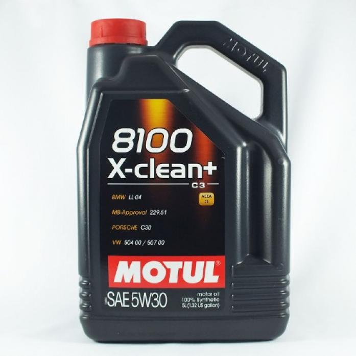 ����� �������� MOTUL 8100 X-clean + 5W-30 5�. 102269