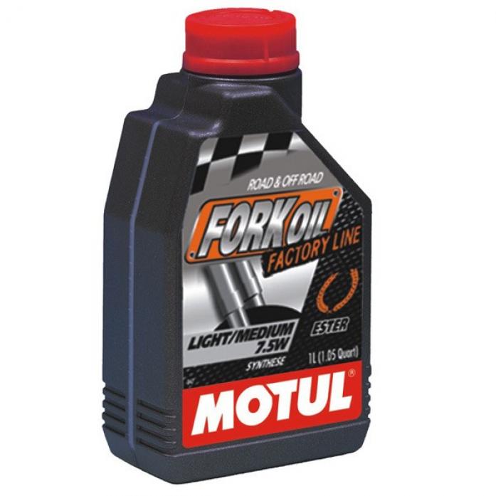 Масло гидравлическое MOTUL Fork Oil light / medium Factory Line / Fork Oil FL L/M 7.5W 1л. 105926 (101127)
