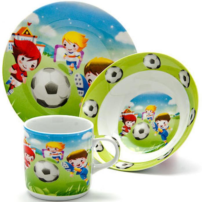 """Детский набор 3 предмета """"Футбол"""" MAYER&BOCH LR-24022"""