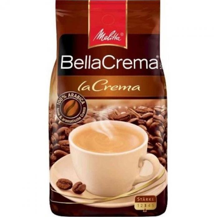 Кофе Melitta BellaCrema Cafe LaCrema жареный в зернах 200гр 00800