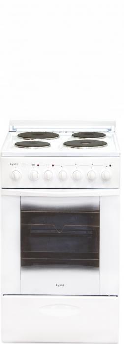Электрическая плита Лысьва ЭП 4/1э3р3 МС белая, без крышки