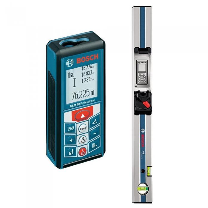 Лазерный измеритель длины Bosch GLM 80Prof шина R60 0601072301