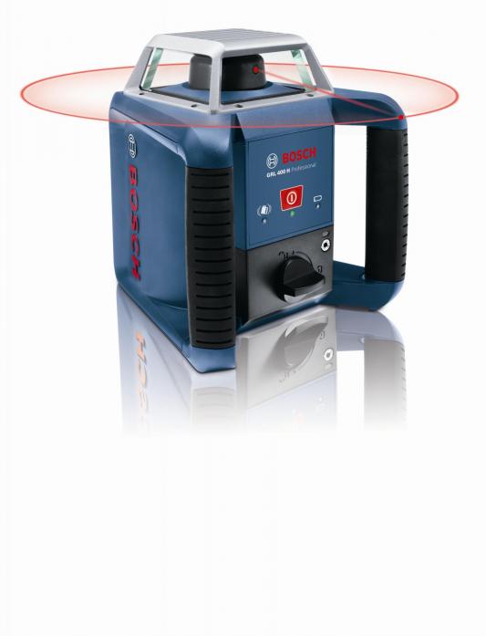 Ротационный лазерный нивелир Bosch GRL 400 H SET 0601061800