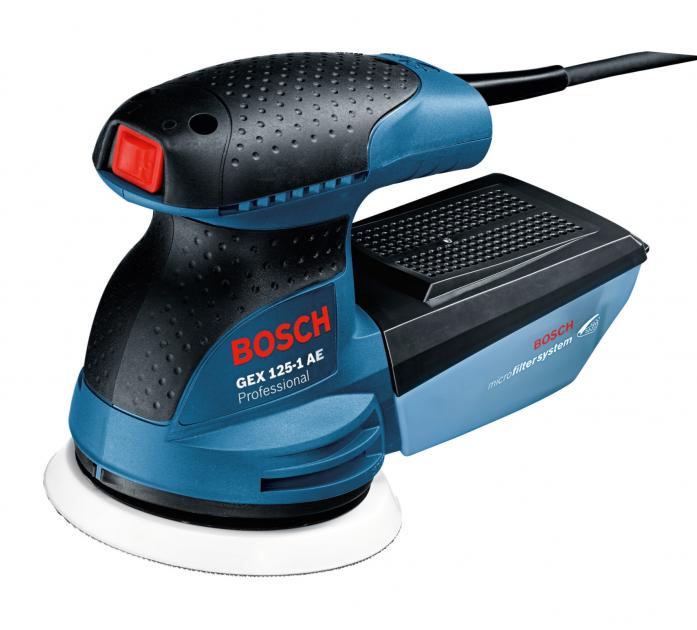 Шлифмашина Bosch GEX 125-1 AE 0601387500