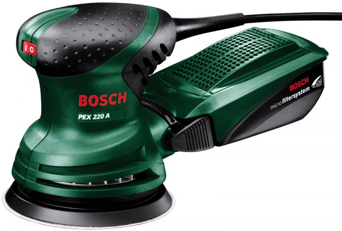 Эксцентриковая шлифовальная машина Bosch PEX 220A 0603378020