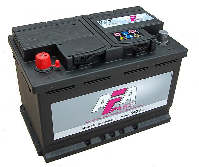 Аккумулятор AFA 91 А/ч 591400 AF ОБР высокий.