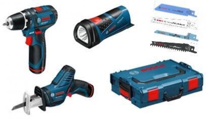 Набор аккумуляторного инструмента Bosch 3 в 1 0615990G02