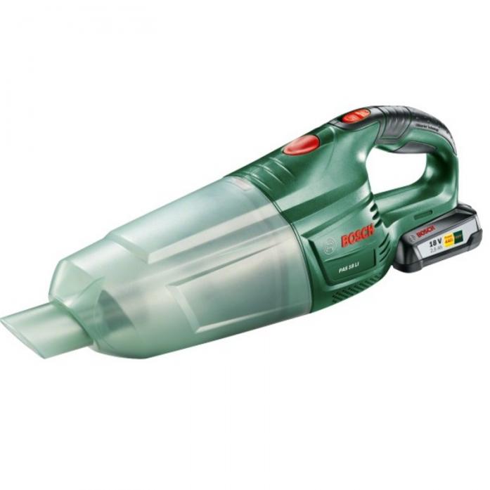 Аккумуляторный ручной пылесос Bosch PAS 18 LI 06033B9002