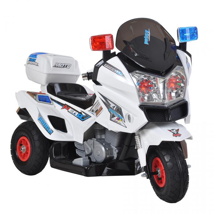 Электромотоцикл Shine Ring 12V/7Ah SR8815 White