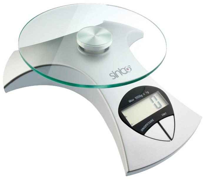 Кухонные весы Sinbo SKS-4512 серебро