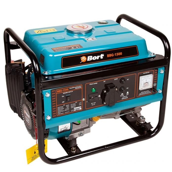 Генератор бензиновый BORT BBG-1500 98296938