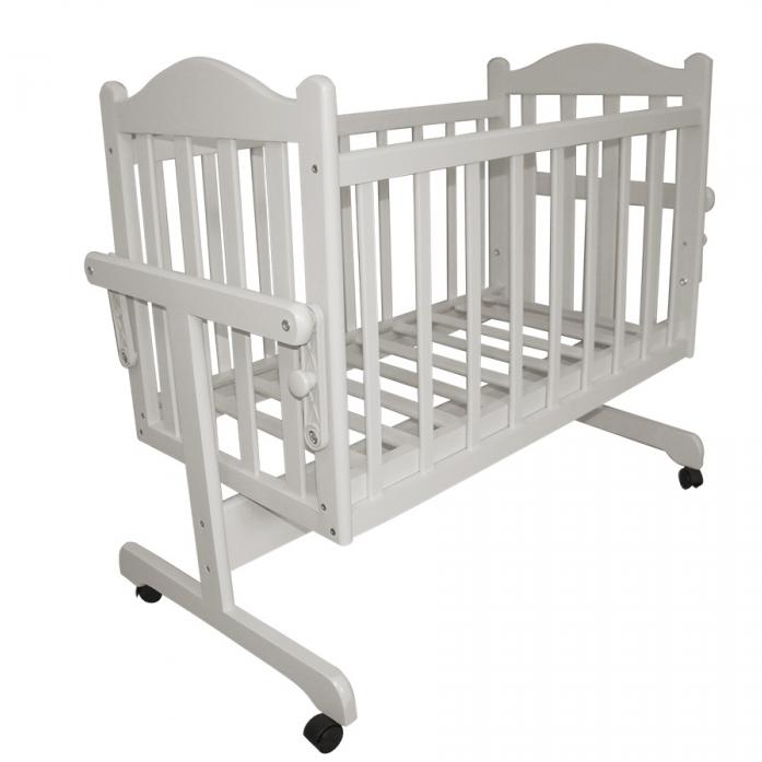 Кровать-колыбель Ивашка Мой малыш Белый