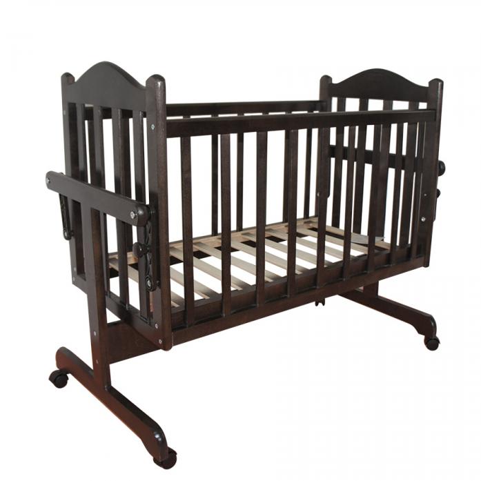 Кровать-колыбель Ивашка Мой малыш Венге