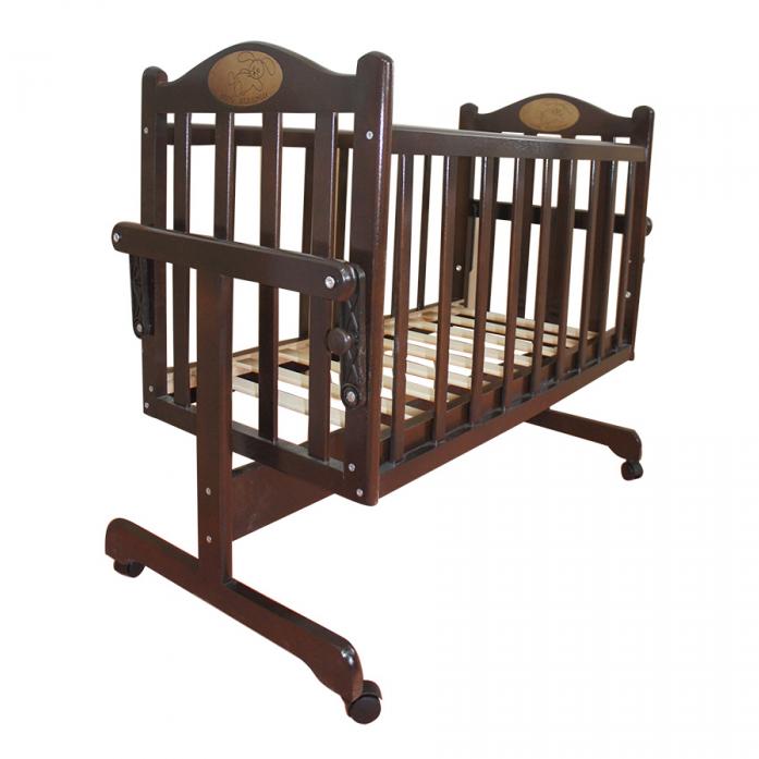 Кровать-колыбель Ивашка Мой малыш Темный