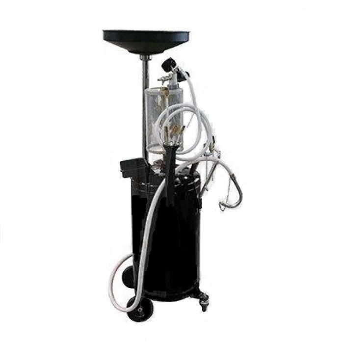 Установка пневматическая 90л для принудительного сбора отработанного масла BOLK BK512150