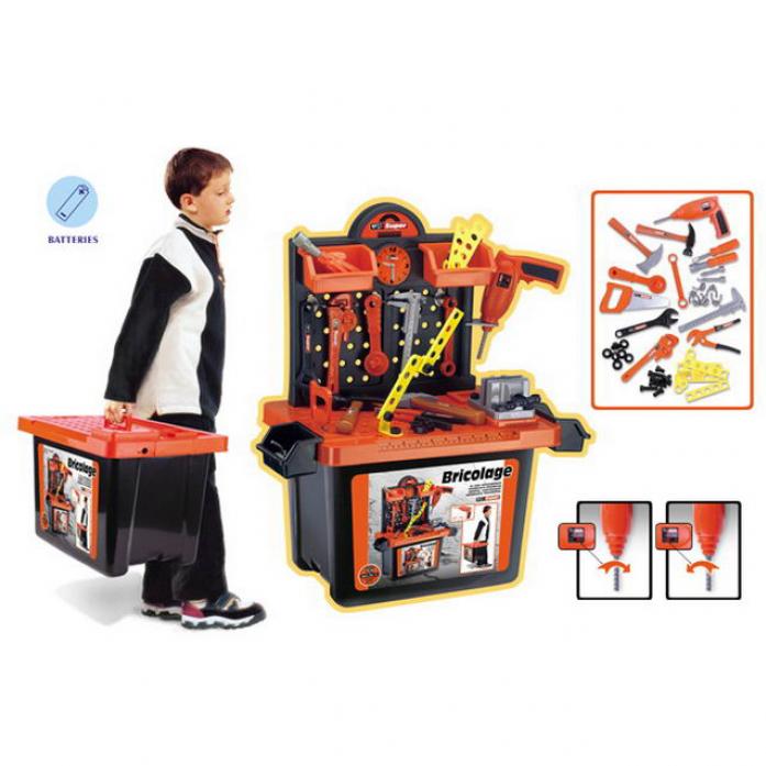 Игровой набор Xiong Cheng Мастерская (в чемодане) 56008