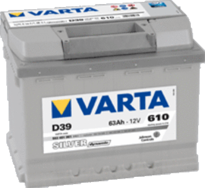 Аккумулятор VARTA Silver Dynamic 63 А/ч 563401 D39