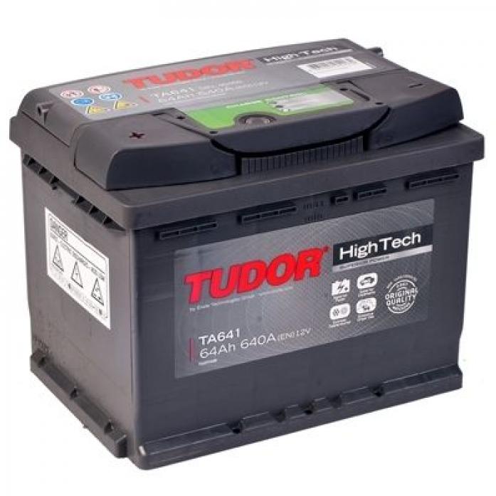 Аккумулятор Tudor High-Tech 64 А/ч TA641