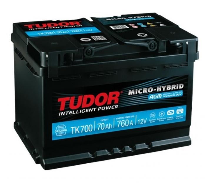 Аккумулятор Tudor AGM 70 А/ч TK700 ОБР.