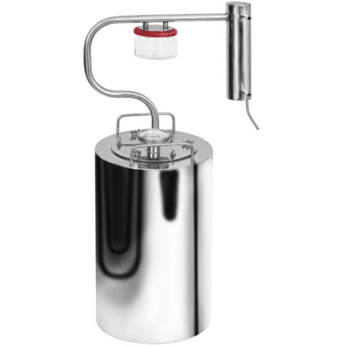 Дистиллятор самогонный недорогой прямоточный охладитель для самогонного аппарата