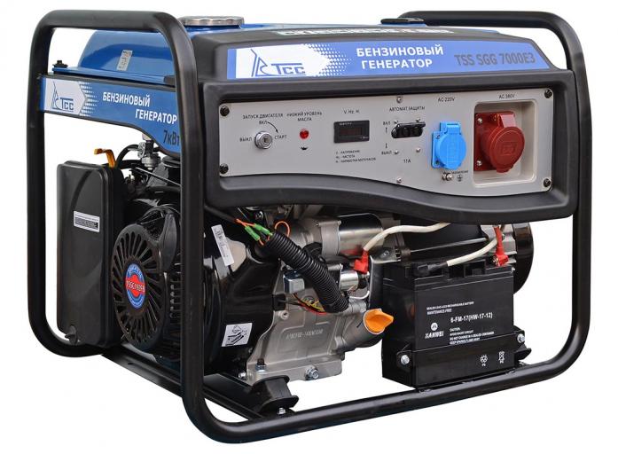 Бензиновый генератор ТСС TSS-SGG-7000Е3