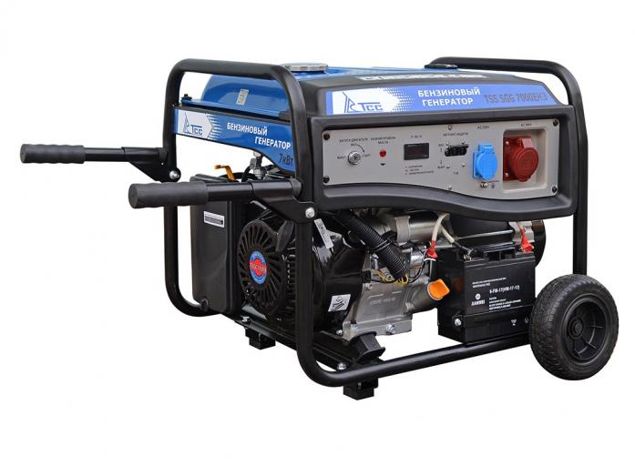 Бензиновый генератор ТСС TSS-SGG-7000ЕН3