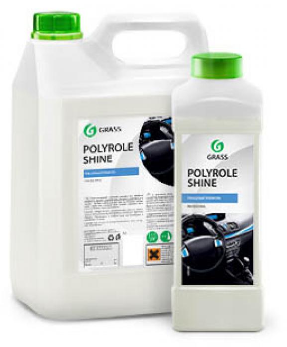 Полироль пластика GRASS Polyrole Shine глянцевый блеск 1л 341001