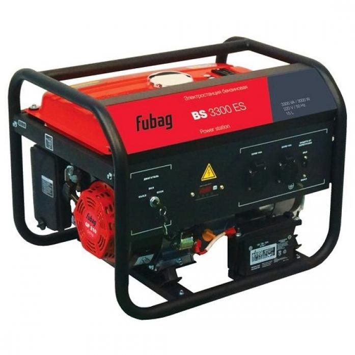 Бензиновая электростанция FUBAG BS 3300 ES 568250
